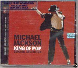 MICHAEL JACKSON KING OF POP CD ARGENTINA EDITION BEST
