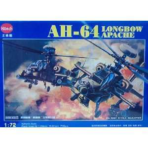 AH 64 Longbow Apache (172) U.S. Army Attack Helicopter Toys & Games