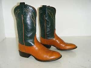 TONY LAMA Cowboy Boots Size 6.5 M Women Used