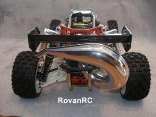 Hi Performance tuned pipe, Exhaust fits HPI Baja 5b SS 5t King Motor