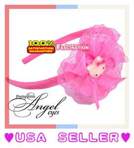 Hello Kitty Ribbon Lace Bow Headband Hair Band Brand New Accessory