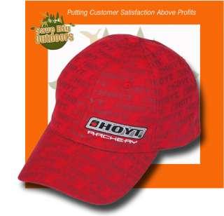 Hoyt Archery Red Repeat Cap Hat Match Vector CRX Element Bow