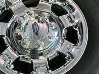 F250 F350SD Factory 18 Wheels Tires OEM Rims Chrome Clad Michelin