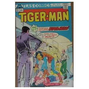 Tiger Man Comic Book #1