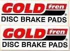 FREN Brakes Racing Decals Sticker 9 Inches Long Siz