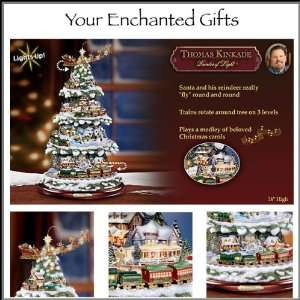 Thomas Kinkade Wonderland Express Animated Christmas Tree