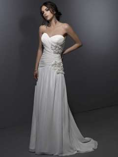 Elegant High Quality Sweetheart Beach Wedding Dress Bridal Gown New