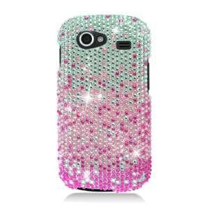 FOR SAMSUNG GOOGLE NEXUS S 4G I9020 PINK RHINESTONE CRYSTAL PHONE CASE