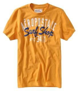 Aeropostale mens graphic Surf Shop NYC t shirt