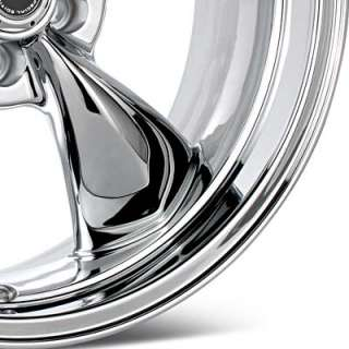 American Racing Authentic Hot Rod Torq Thrust M Chrome Plated