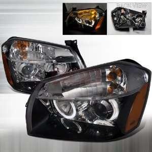 Dodge Dodge Magnum Halo Projector Headlights/ Head Lamp /Light   Black
