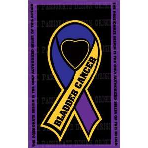 Bladder Cancer Ribbon Decal 8 X 14 Everything Else