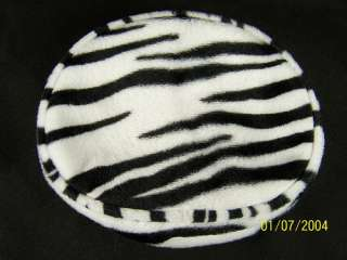 COMECO BLACK WHITE STRIPE ANIMAL PRINT ZEBRA HANDBAG