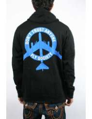Rogue Status Mens Dta Fly Society Zip Hoodie