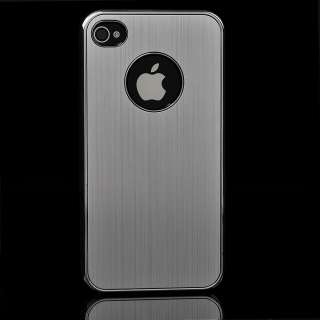 Luxury Aluminum Chrome Skin Cover Case For Apple iPhone 4 4G 4S