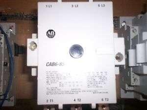 New Allen Bradley Contactor CAB6 85