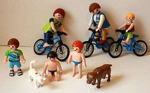 FIGURE SETS people/men/family/children/boy/girl/dog/bike/woman