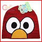 Sesame Street Elmo Beanie Knitted Hat Big Face (Teen A