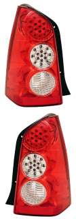 MAZDA TRIBUTE 05 06 LED TAIL LIGHT RED/CLEAR NEW