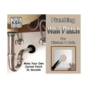 1 3/4 X 5 1/2 Plumbing Self Adhesive Wall Patch (1 Per Pkg