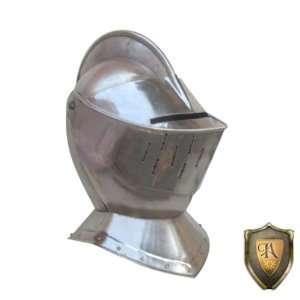 Medieval Knights Jousting Helmet in Stee  Wearable Costume Armor