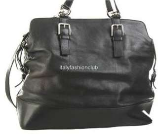 NEW DOLCE & GABBANA BLACK LEATHER MISS EASY WAY XLARGE HOBO TRAVEL