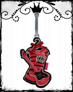 Rock N Roll Guitar Princess ID Luggage Tag Fun, Funky!