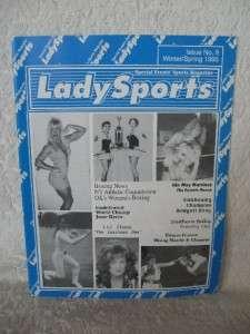 1995 Iss 9 Lady Sports Magazine Wrestling Boxing Body