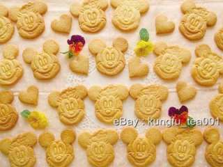 Disney Mickey & Minnie Cookie / Food Stamp Mold Cutter