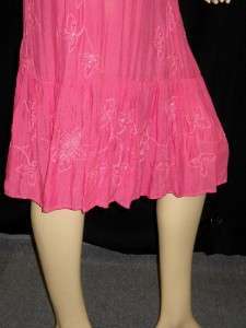 NWT COOL CHANGE Bella Pink Smocked Sequin Tali Dress L