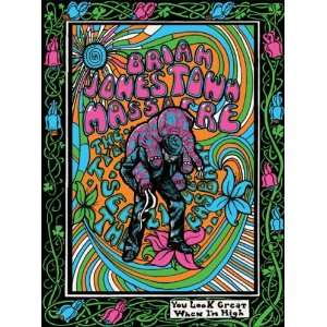 Brian Jonestown Massacre Concert Poster Grealish 2006