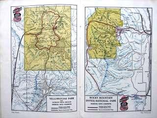 Union Pacific Railroad 1928 Western US Tours Book