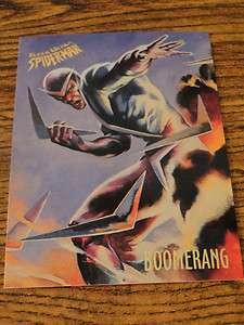 BOOMERANG 1995 Ultra Spider Man card #8 Ray Lago