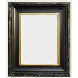 McGovern Distressed Black and Gold Pleinair Style Frame