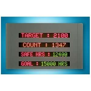 Programmable Multi Color LED Sign Display 22 x 36