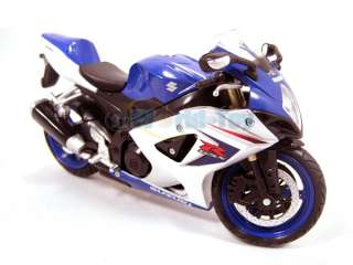 NEW RAY SUZUKI GSX R1000 2008 SPORT MOTORCYCLE BIKE