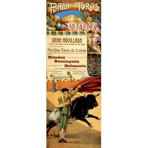 PLAZA DE TOROS SANTANDER BULL FIGHT RUN SPAIN SMALL