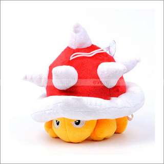 Super Mario Bros Spiny 4 soft plush toy doll