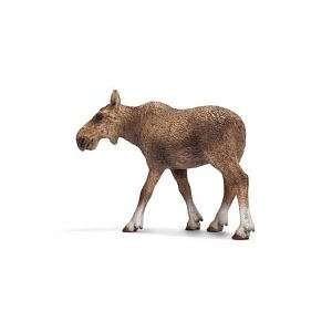 Schleich Moose Cow 14620: Toys & Games