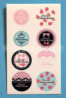 Sweet Strawberry Lolita & Lace Letter Set ~ Victorian Style Japanese