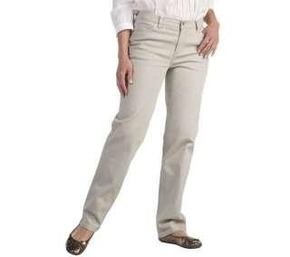 Liz Claiborne New York Jackie Straight Leg Jeans Embroidery Detail 22W