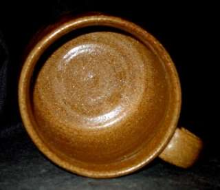 MINT   Wayne Branum Tenmoku Coffee Cup. Wayne was a student of Warren