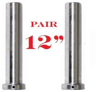 Pair 12 Long Olympic Heavy Duty Solid Adapter Sleeve