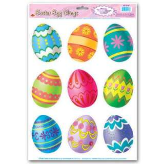 Easter Egg Window Cling Decorations