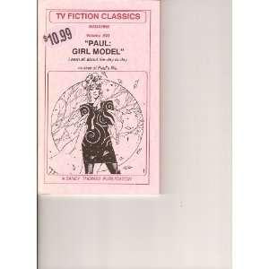 Magazine, Paul Girl Model (Volume 23): Sandy Thomas & Rene: Books