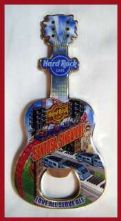 Hard Rock Cafe SENTOSA SINGAPORE Bottle Opener Magnet