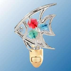 Tropical Fish Chrome/Crystal Night Light Home Improvement