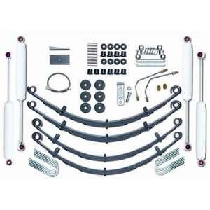 Lift Kit 4 Inch Standard System Jeep Wrangler YJ RUB