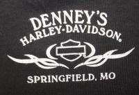NWT HARLEY DAVIDSON Black Springfield MO, T Shirt S