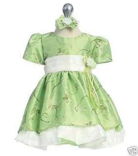 NEW EASTER FLOWER GIRL TODDLER BEADED SPRING DRESS